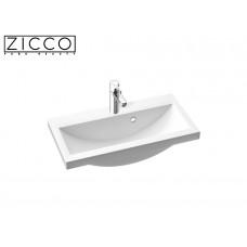 Design Mineralguss Einbau-Waschbecken Eques 60