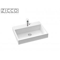 Design Mineralguss Aufsatz-Waschbecken Erato 60