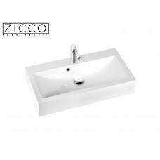 Design Mineralguss Aufsatz-Waschbecken Goia 80