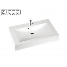 Design Mineralguss Aufsatz-Waschbecken Goia 90