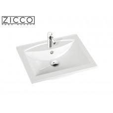 Design Mineralguss Einbau-Waschbecken Lavatio 60
