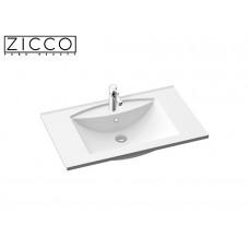 Design Mineralguss Einbau-Waschbecken Lavatio 80