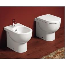 design keramik wc becken mit aufgesetztem sp lkasten bari classic stone. Black Bedroom Furniture Sets. Home Design Ideas