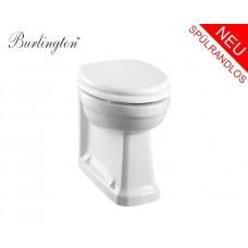 Spülrandloses Retro Keramik WC-Becken Classic