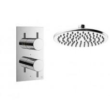 Design Unterputz Duscharmatur / 1 Weg Mike PRO