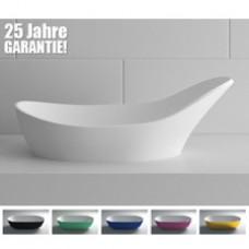 Mineralguss Aufsatz-Waschbecken Classic