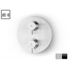 Design Unterputz Thermostat Duscharmatur Slimline / 2 Weg