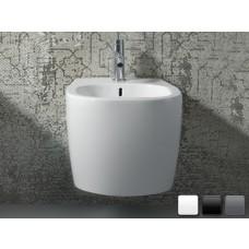 Keramik Design Bidet-Becken Weg wandhängend