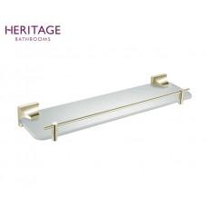 Design Glasablage Chancery Vintage Gold