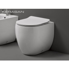 Keramik WC-Becken Flo wandbündig Large