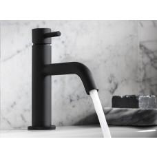 Design Einloch Waschtischarmatur Mike PRO Black