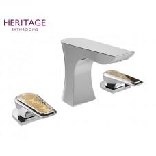 Design Dreiloch Waschtischarmatur Lymington