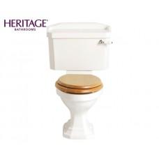 Nostalgie Keramik WC-Becken Granley mit aufgesetztem Spülkasten