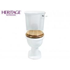 Nostalgie Keramik WC-Becken New Victoria mit aufgesetztem Spülkasten