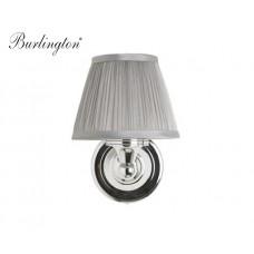 Retro Badezimmer-Lampe Silver Pleat Straight