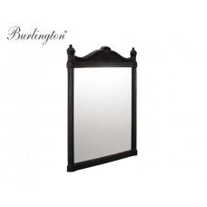 Retro Badezimmer-Spiegel Burlington Schwarz