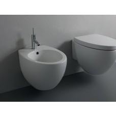 Keramik Bidet-Becken Ei-Design Ovo wandhängend