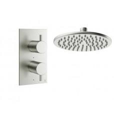 Design Unterputz Duscharmatur / 1 Weg Mike PRO Steel