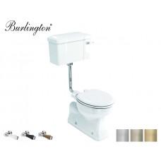 Retro Keramik WC-Becken Classic mit hängendem Spülkasten