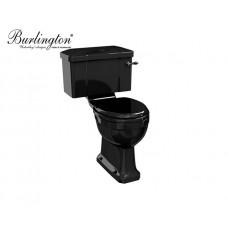 Retro Keramik WC-Becken Jet mit aufgesetztem Spülkasten