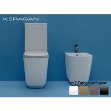 Keramik WC-Becken Tribeca mit aufgesetztem Spülkasten wandbündig