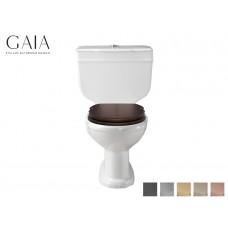 Traditioneller Keramik WC-Becken Pompei mit aufgesetztem Spülkasten