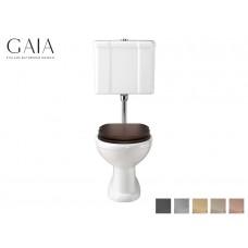 Traditioneller Keramik WC-Becken Pompei mit hängendem Spülkasten