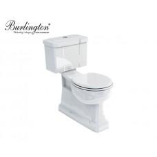 Keramik WC-Becken Classic mit aufgesetztem Spülkasten Bodenablauf