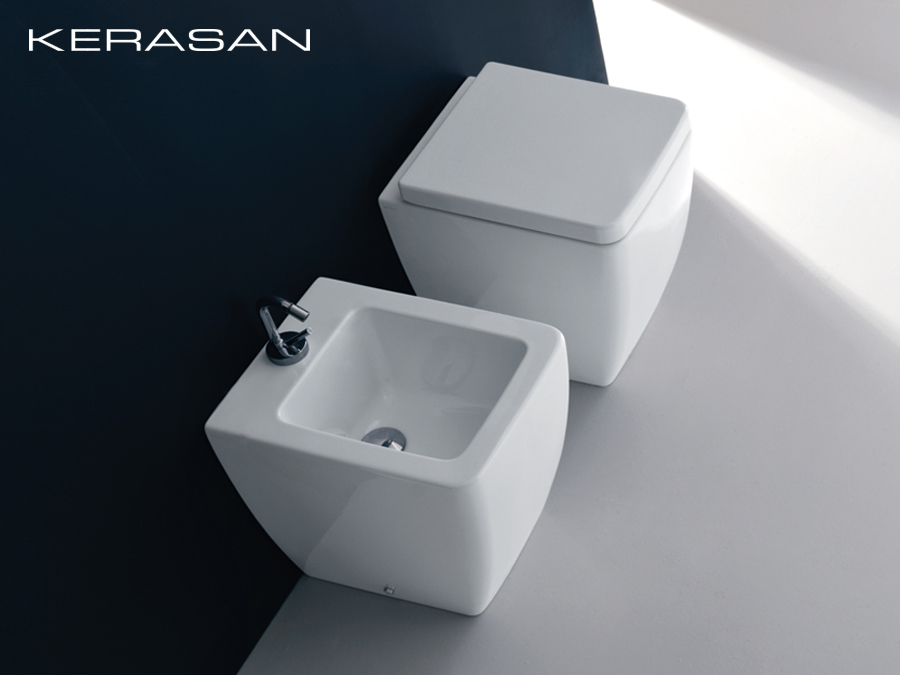 wc becken bodenstehend ego kerasan design modern. Black Bedroom Furniture Sets. Home Design Ideas