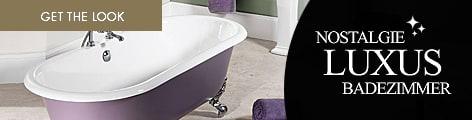 Classic stone freistehende badewannen mineralguss for Badezimmer im englischen design