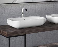 Design Keramik Aufsatz-Waschbecken